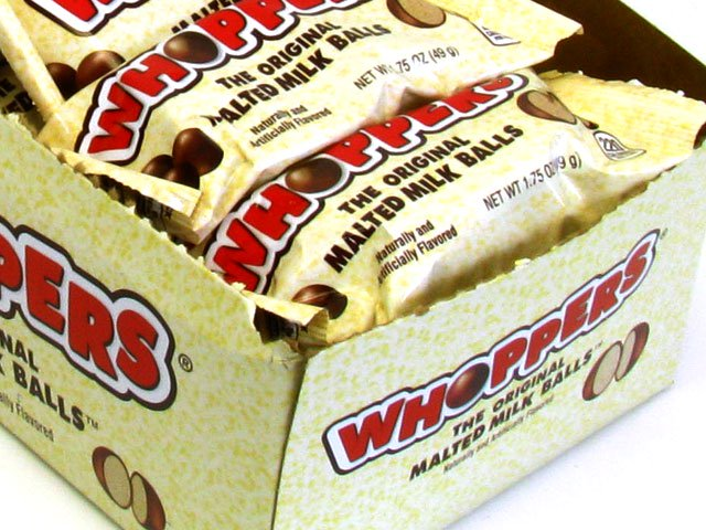 Whoppers - 1.75 oz - box of 24
