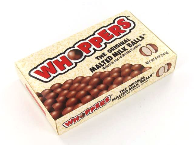Whoppers - 5 oz theater box