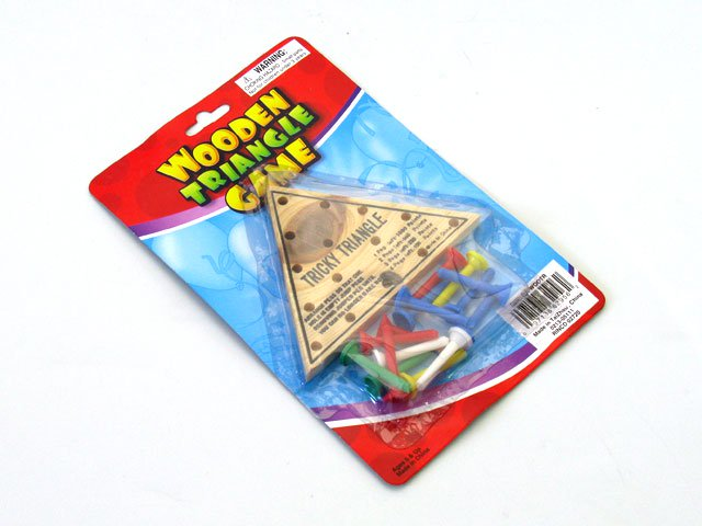 Wooden Triangle Game