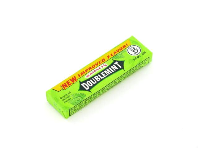 Doublemint Gum - box of 40 packs