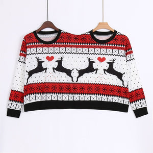 Ugly Christmas Couples Sweater