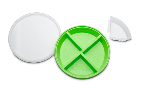 the Kid plate - green/orange