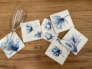 Indigo Drink Coasters