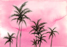 Hollywood Palms Pink