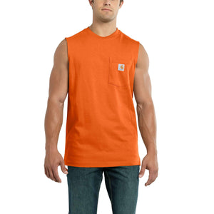 Carhartt Workwear Pocket Sleeveless T-shirt