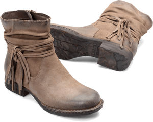 Born Shoes BORN Cross : Beige/Tan - Women's Boots