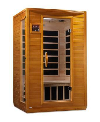 "Versailles HF Edition 75"" Far Infrared Sauna with 2 Person Capacity"