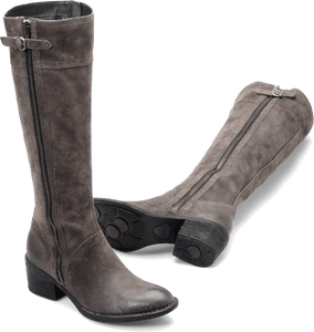 Born Shoes_Boots BORN Poly : Gray - Womens