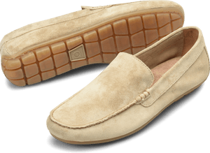 Born Shoes BORN Allan : Beige/Tan - Men's Driving Loafer