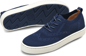Born Shoes BORN Bearse : Blue - Men's Casual Sneaker