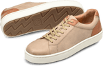 Born Shoes BORN Jib : Brown - Men's Relaxed Leather Sneaker