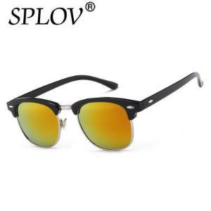 Black - Orange SPLOV® Unisex UV400 Classic Sunglasses