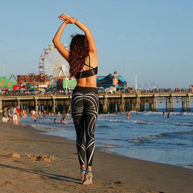 Hayoha®High Hip Yoga Fitness Leggings For Women Coney Island