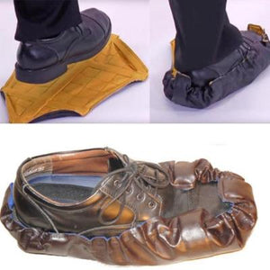Leather Waterproof Fast Automatic Shoe Cover