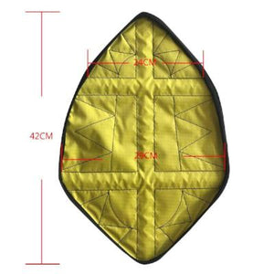 Yellow Leather Waterproof Fast Automatic Shoe Cover