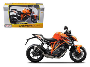 KTM 1290 Super Duke R Orange Motorcycle Model 1/12 by Maisto - Get It Vault