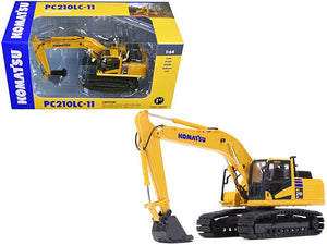 Komatsu PC210LC-11 Excavator 1/64 Diecast Model Car by First Gear
