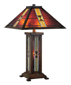 "1800lighting.com Farah 16"" 3 Light Table Lamp in Dark Bronze Lite Source"