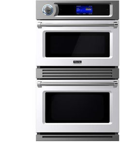 "Viking 30"" Turbo Chef Speed cook Double Oven with 6.3 Total cu. ft. Capacity Halogen Lighting Self-Clean Function"
