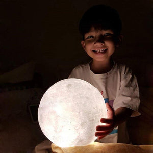 Luofu® 3D Moon Lamp LED Night Light happy moon child