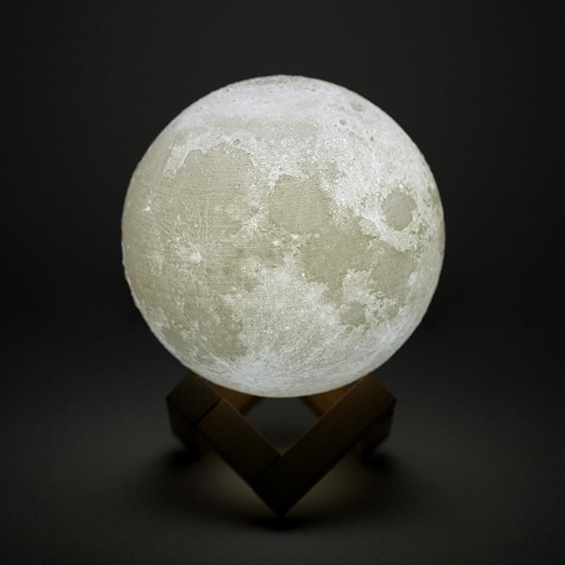Luofu® 3D Moon Lamp LED Night Light white light