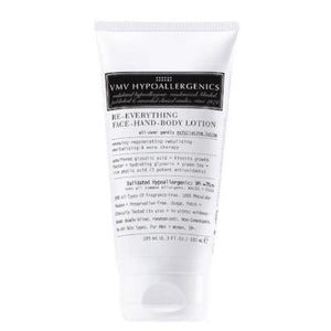 VMV Hypoallergenics RE-EVERYTHING FACE-HAND-BODY LOTION (185 ml / 6.3 fl oz)
