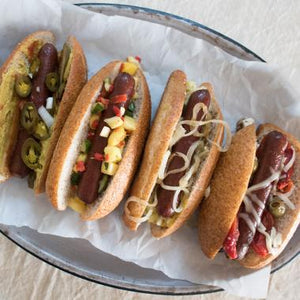 Bison Hotdogs - free range - grass fed - 1 lb