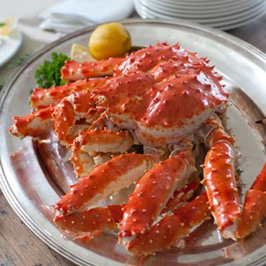 King Crab - whole - Alaskan - partially cooked - 4-5 lbs