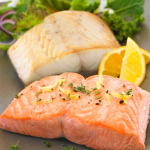 King Salmon & Sablefish - 50/50 two-fish combo