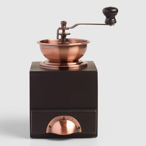 Copper Vintage Style Burr Coffee Grinder by World Market