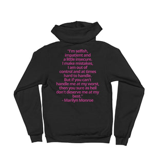 Woman's Custom Print Hoodie Sweater - Get It Vault