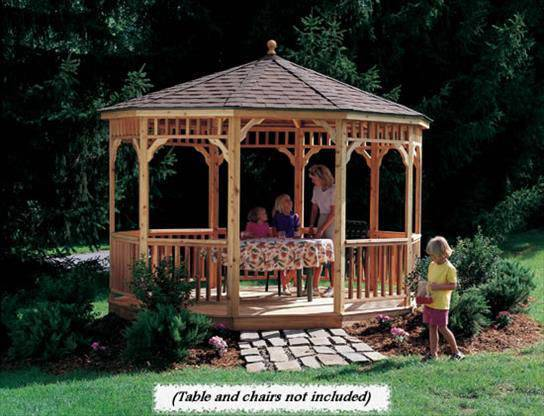 Backyard Products, LLC 12' Brighton - Round Gazebo