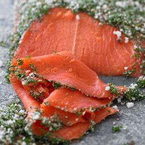Sockeye Nova Lox Whole Fillet Sliced