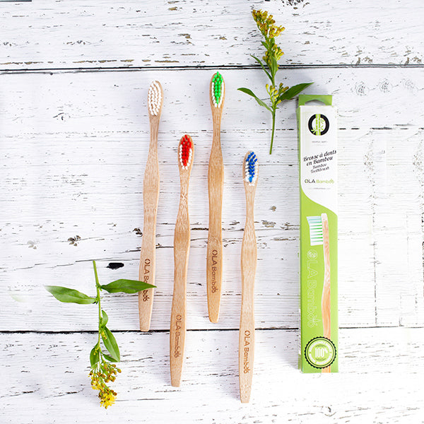 Ola Bamboo Toothbrush (Adult)