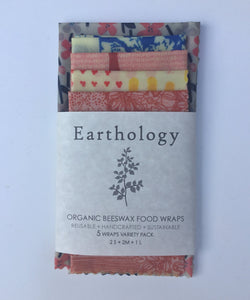 Earthology Beeswax Food Wraps