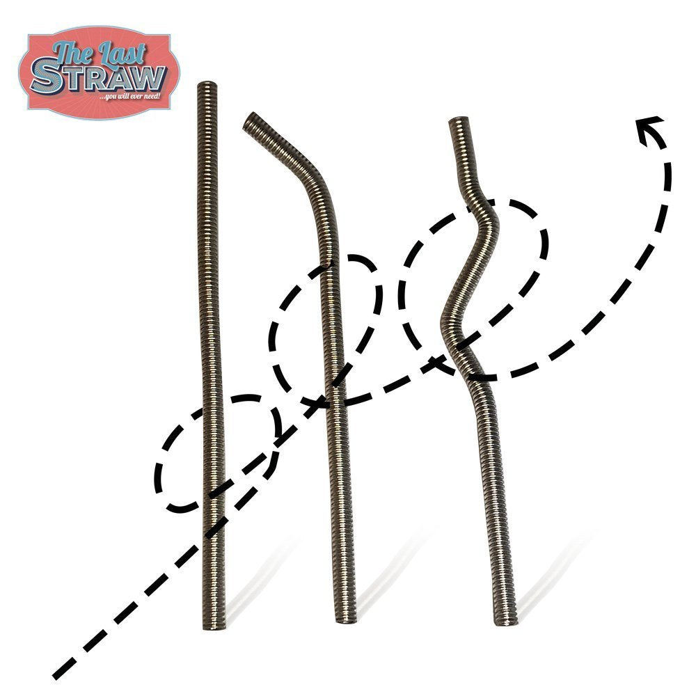 Bendable Stainless Steel Straw