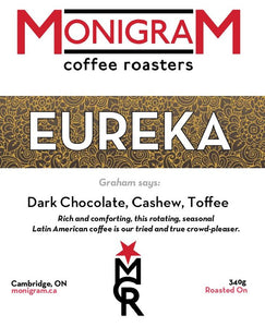 Monigram Coffee Eureka (Medium/Dark)