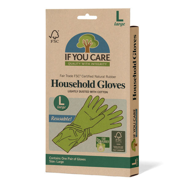 If You Care Household Latex Gloves