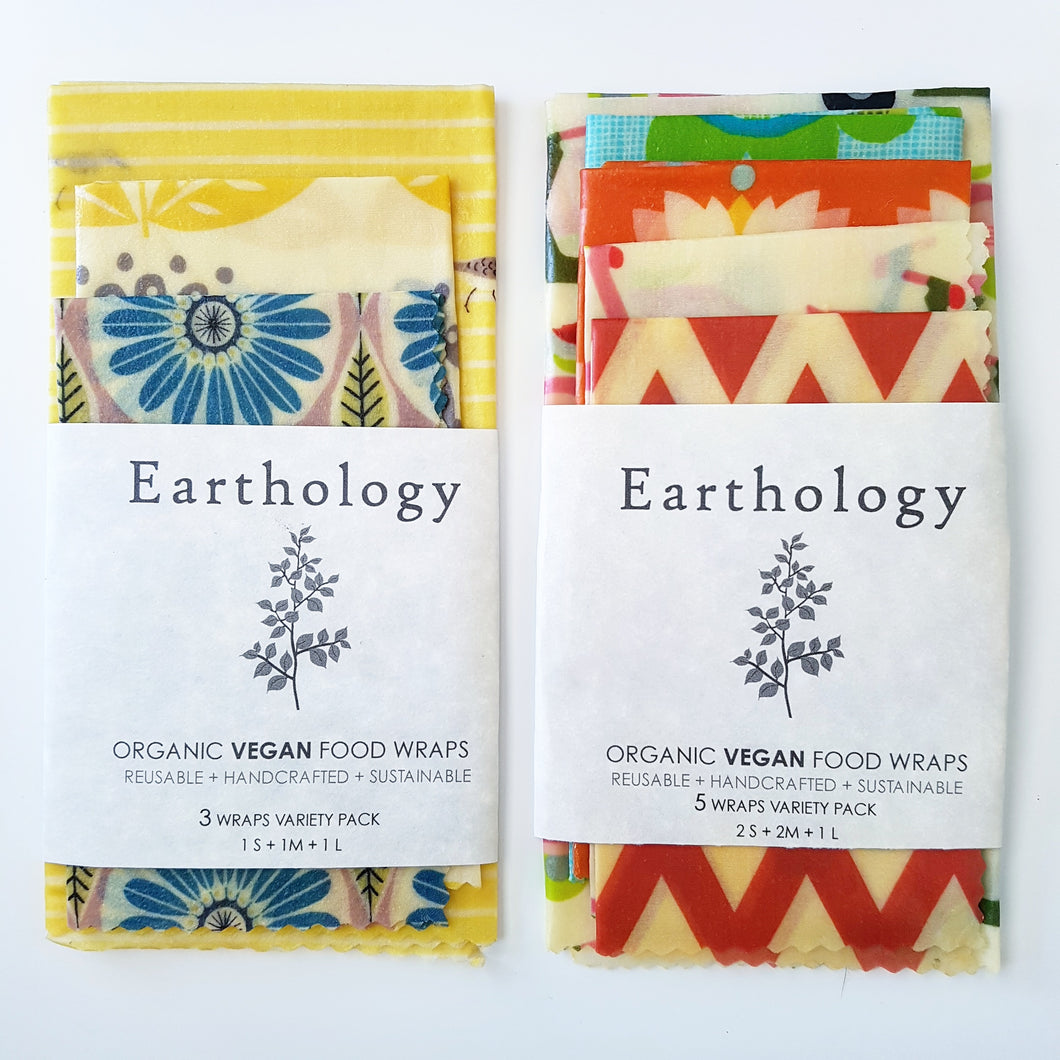 Earthology Vegan Food Wraps