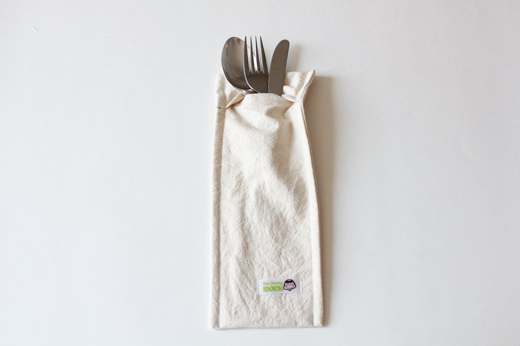 The Chatty Monk Cutlery Pouch