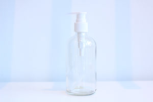 8oz Glass Pump Bottle