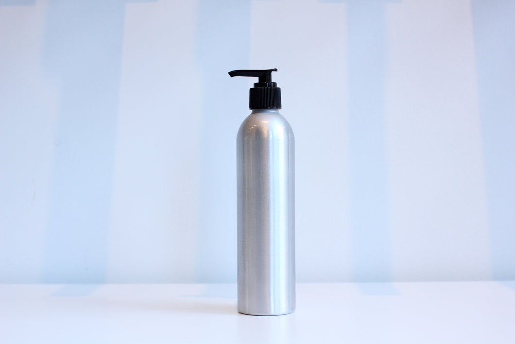 8oz Large Metal Pump Bottle