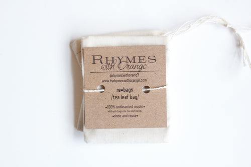 Rhymes With Orange reBag Tea Bags (4 Pack)