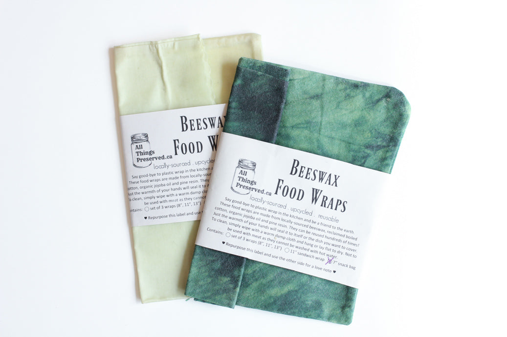 All Things Preserved Beeswax Snack Bag