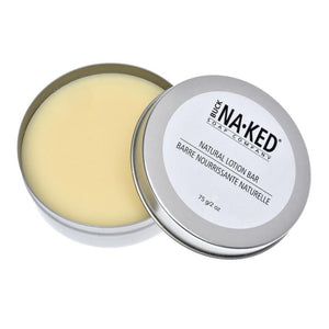 Buck Naked Lotion Bar (With Tin)