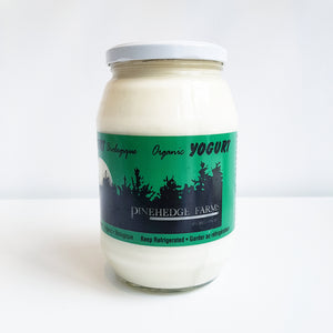 Pinehedge Organic Yogurt ($1 Jar Deposit)