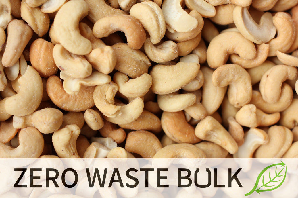 Whole Cashews (Roasted, Salted)
