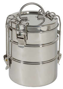 3-Tier Stainless Steel Tiffin