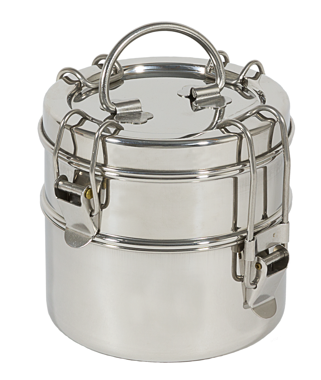 2-Tier Snack Size Tiffin