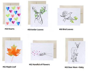 Flowerink Plantable Greeting Card